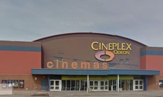 Lethbridge movie cineplex