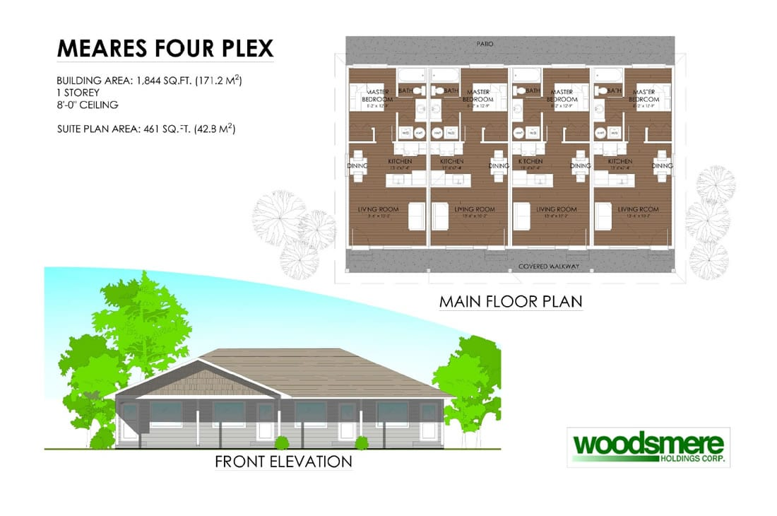 Meares Four Plex - Development Permit Presentation