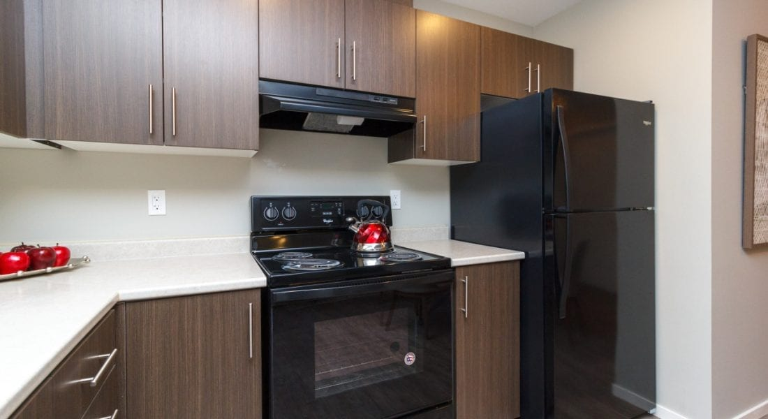 Langford Apartments Kitchen - Belmont Place