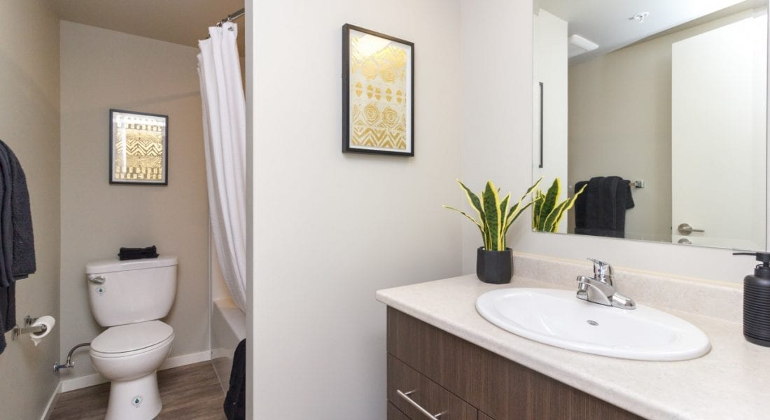 Langford Apartments Bedroom - Belmont Place