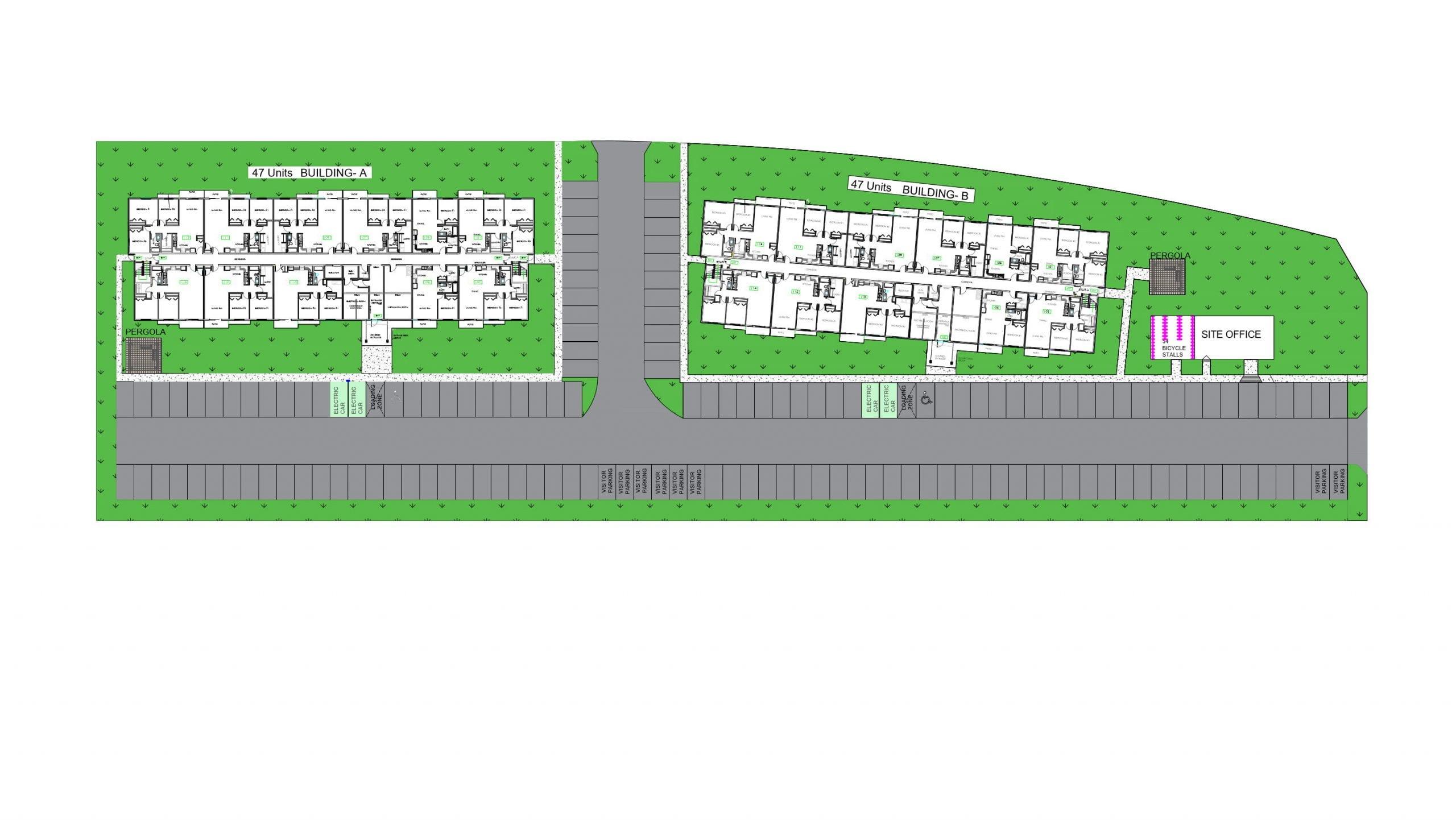 Courtenay Development - Site Plan