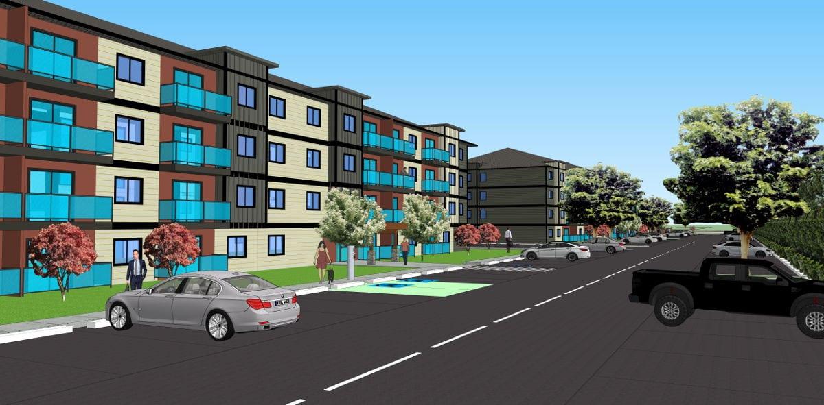 Courtenay BC Apartments - Development