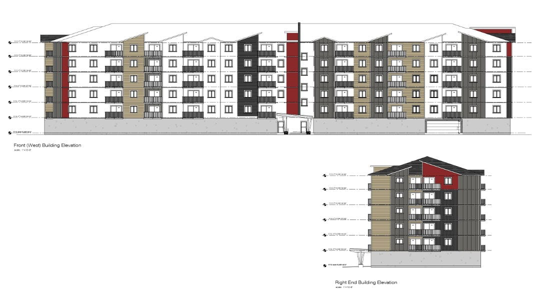 Sooke Apartments Elevations