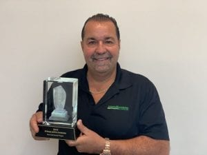 Danny Jadresko 2019 CARE Award