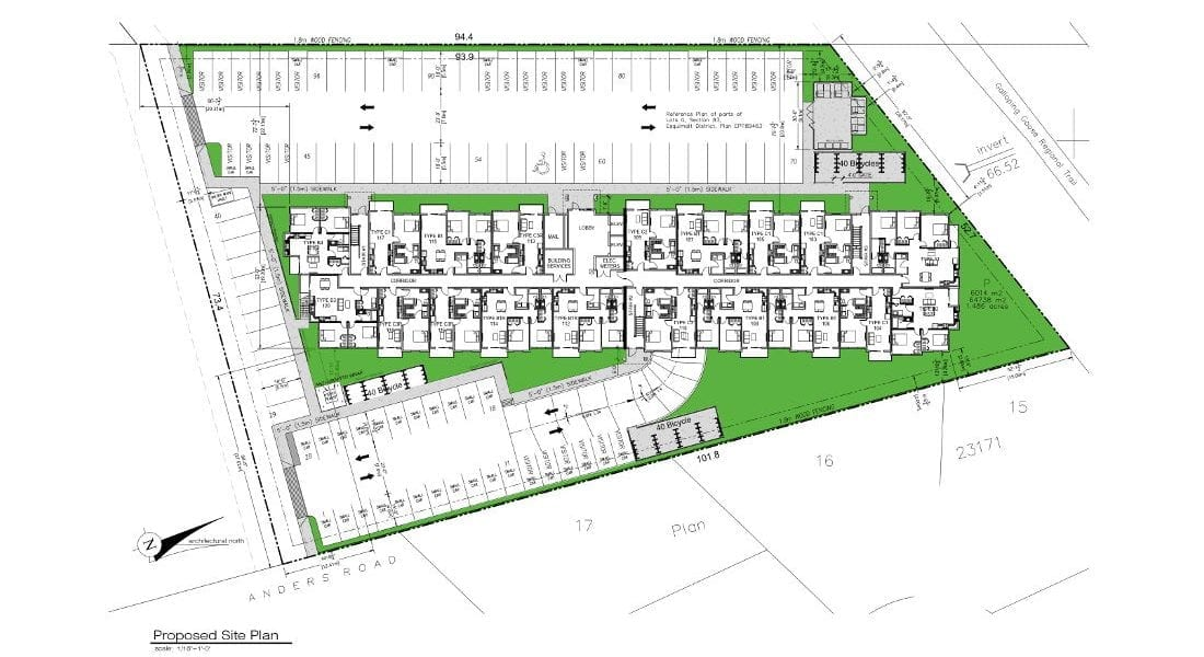 Glen Lake Site Plan