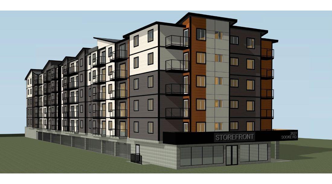 Sooke Apartments Elevations