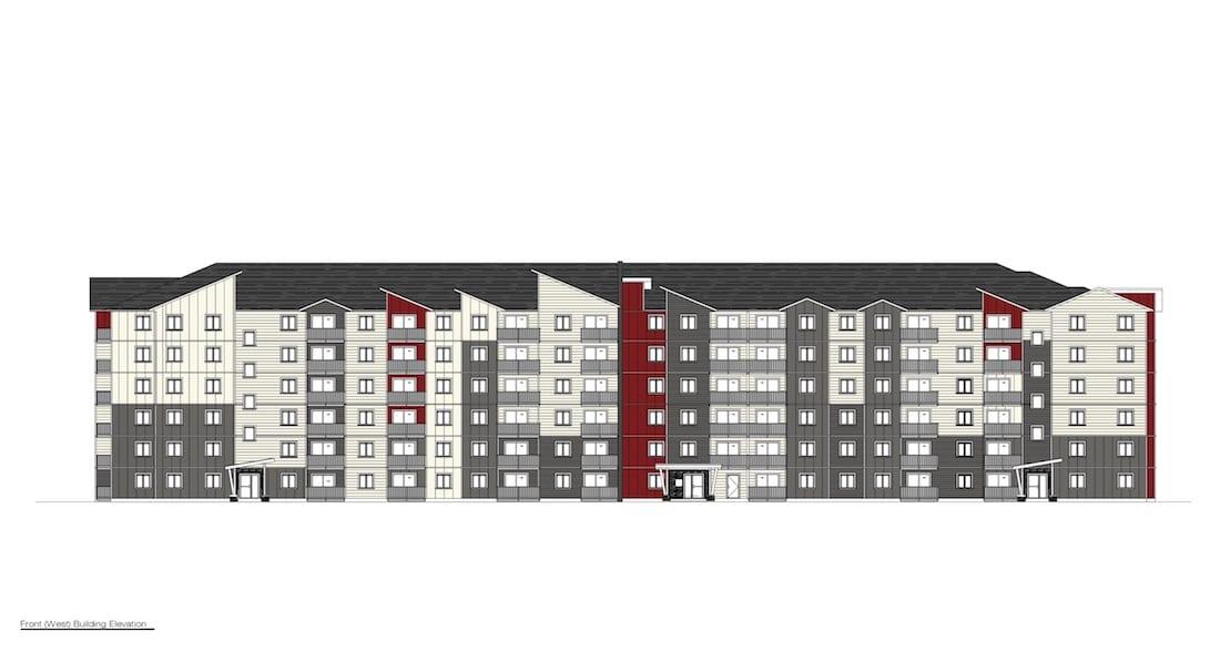Glen lake Apartments - Front View