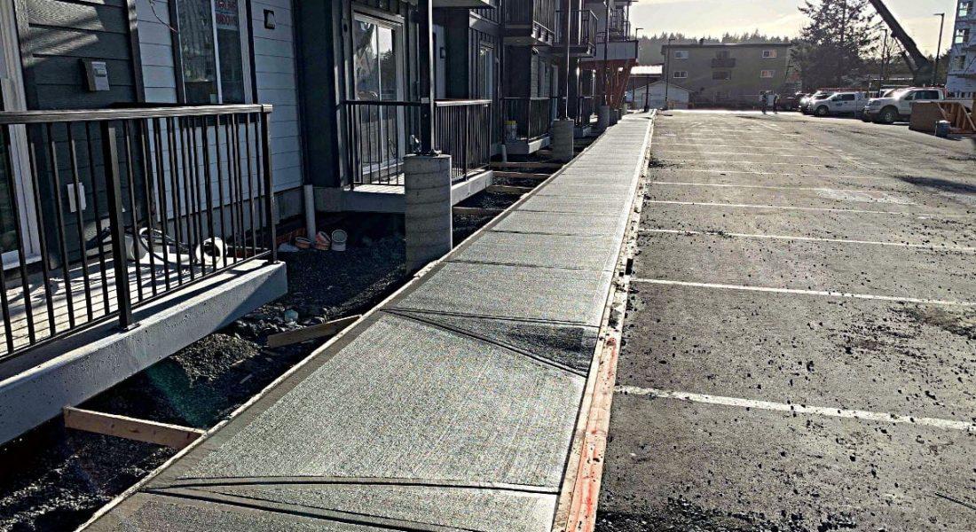 Glen Lake Apartments - Victoria BC - Construction