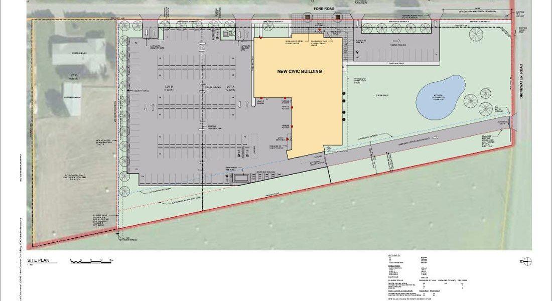 RCMP Facility Conceptual Design Site Plan