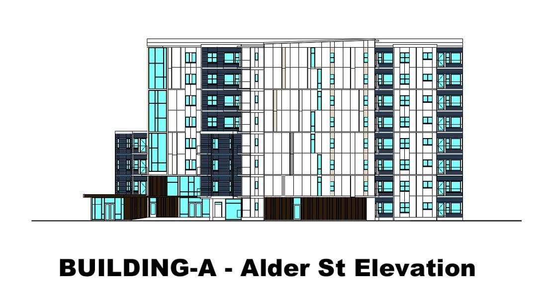 Rutledge Place Apartments - Victoria BC Elevation