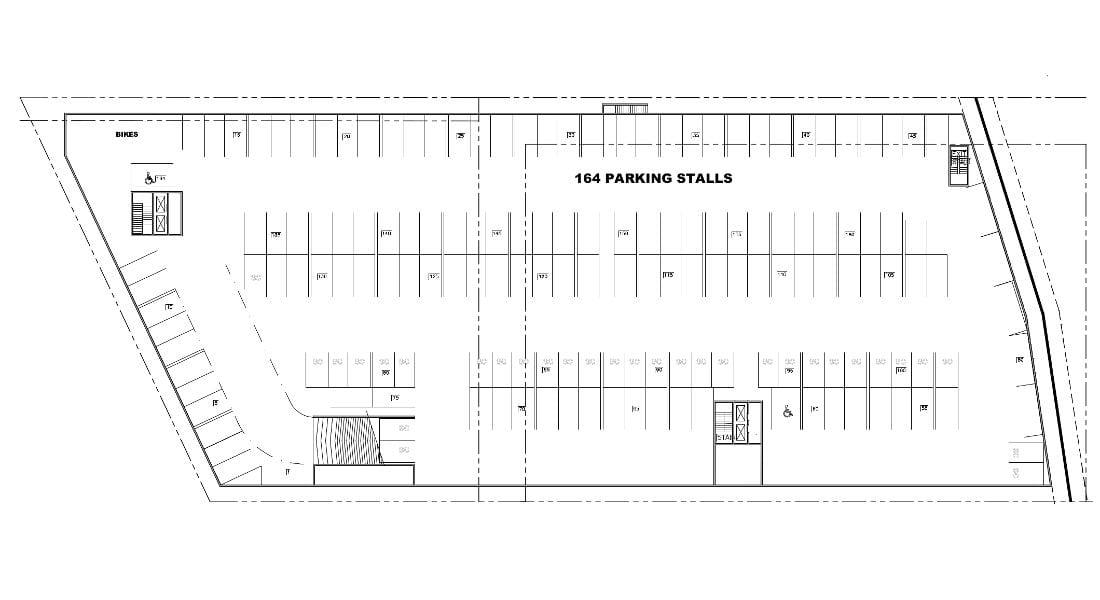 Rutledge Place Apartments - Victoria BC, Parking