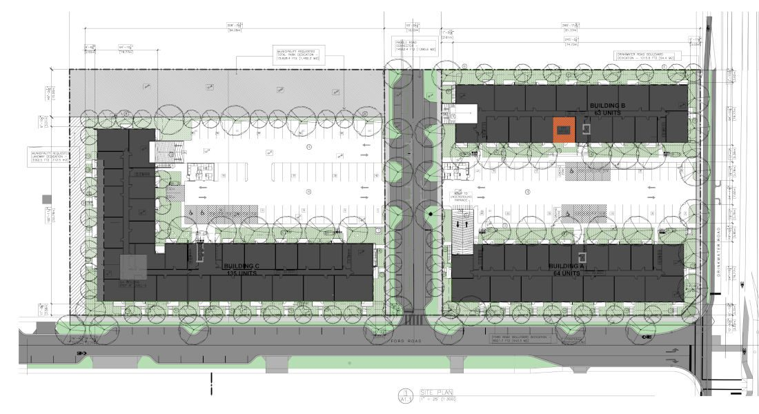 Drinkwater Development Site Plan - North Cowichan BC